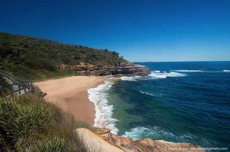 Image of Bullimah Beach Bouddi National Park
