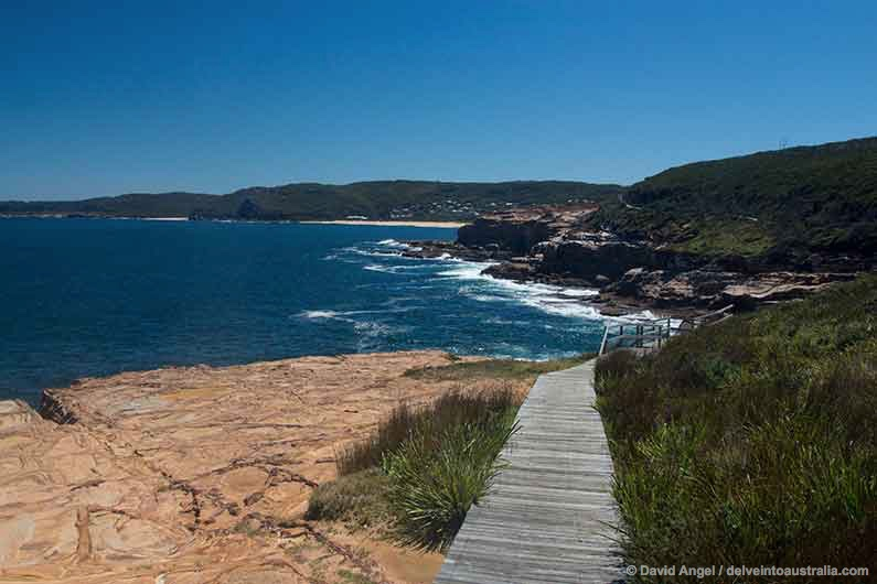 Image of boardwalk on Bouddi Coastal Walk