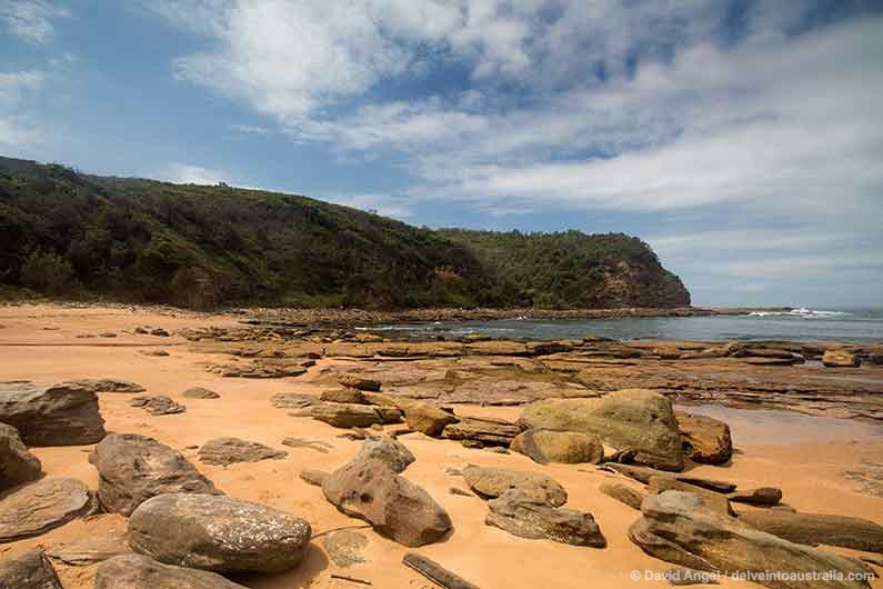 Image of Little Beach Bouddi National Park