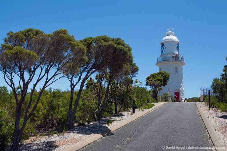 Image of Cape Naturaliste lighthouse, Western Australia