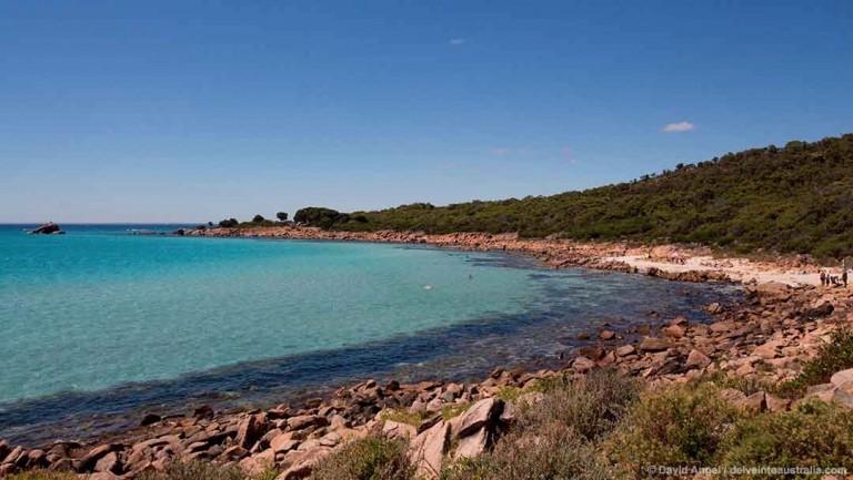 Image of beach at Point Picquet near Dunsborough, Western Australia