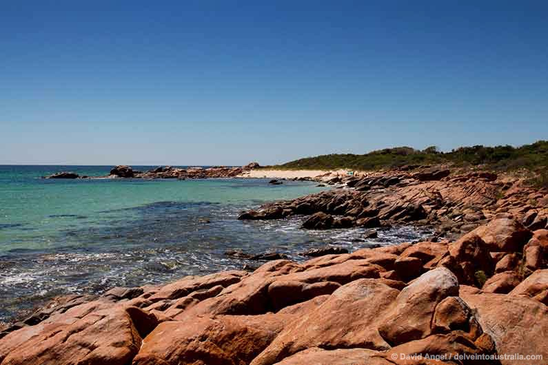 Image of beach near Point Picquet, near Dunsborough, Western Australia
