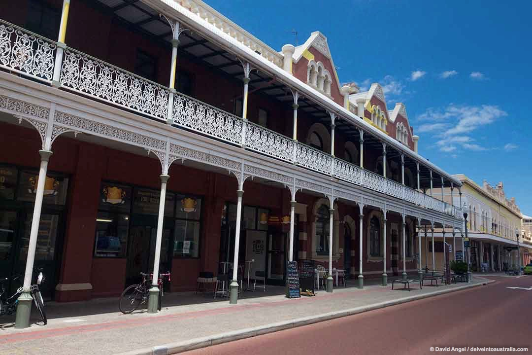 Image of 19th century architecture in Fremantle