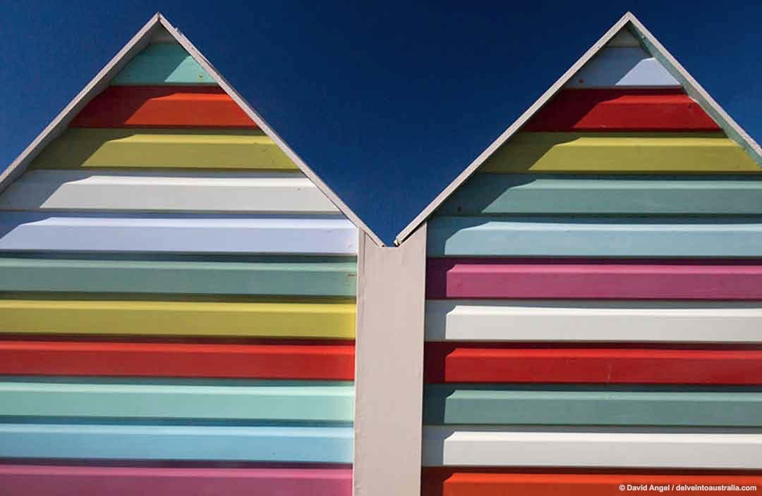Image of Fremantle beach huts