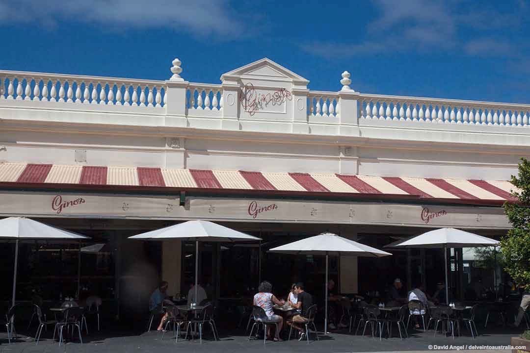 Image of Gino's Cafe on Fremantle's Cappuccino Strip