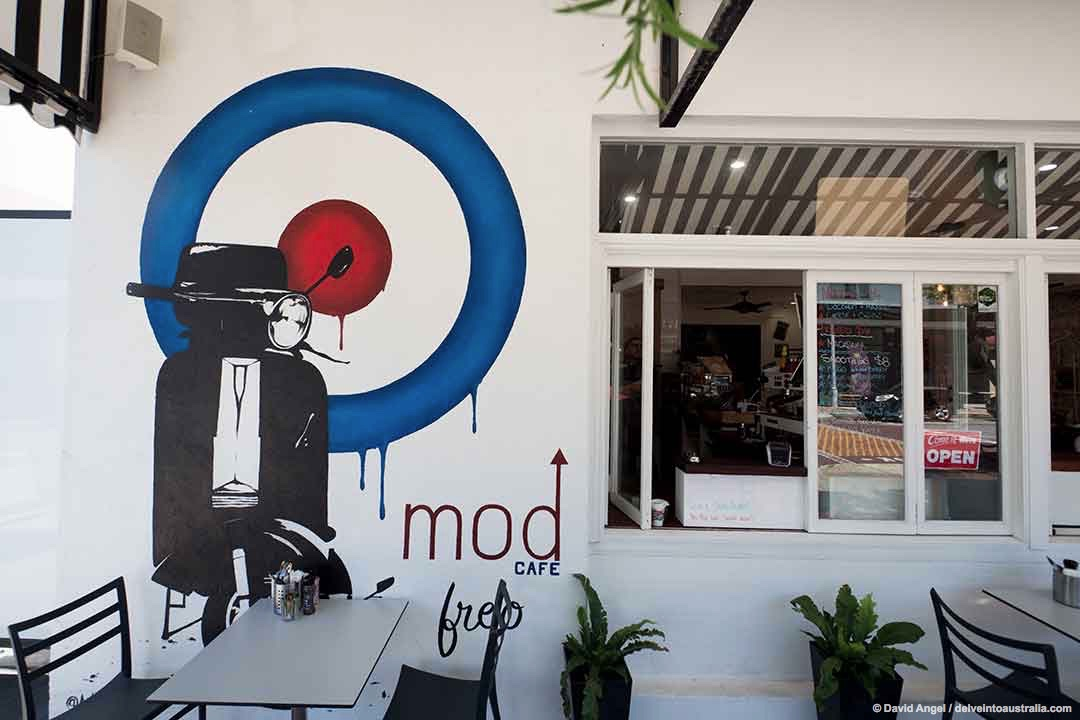 Image of the Mod Cafe, Fremantle