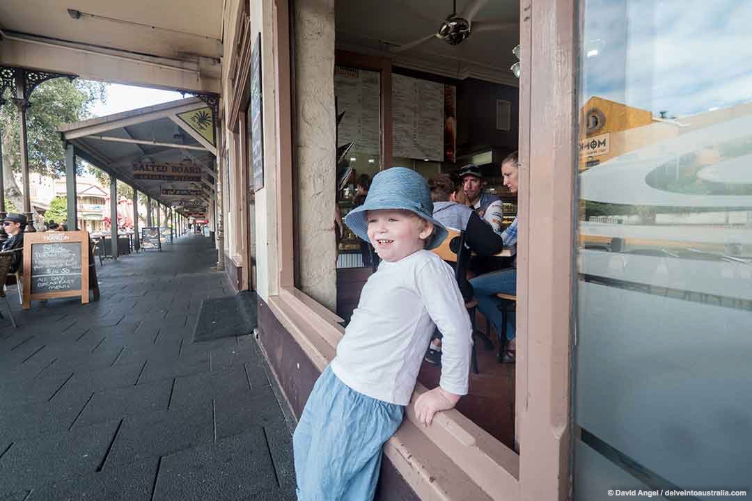 Image of boy at the Fremantle Bakehouse