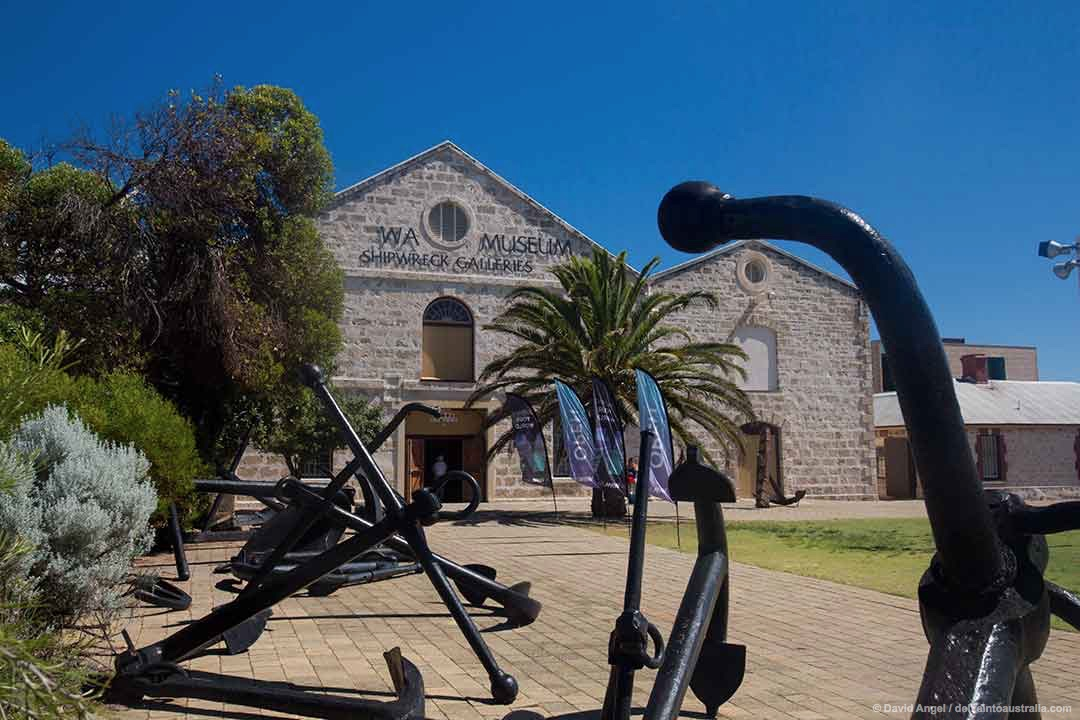 Image of the exterior of the Shipwreck Galleries in Fremantle