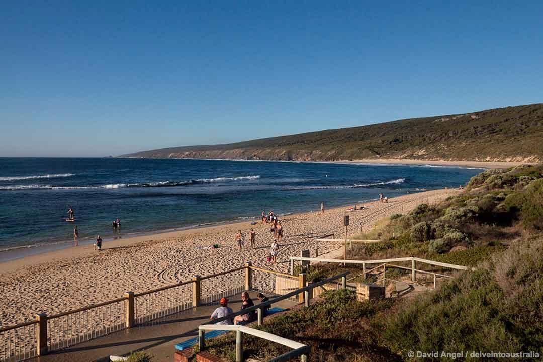 Image of Yallingup beach, Western Australia