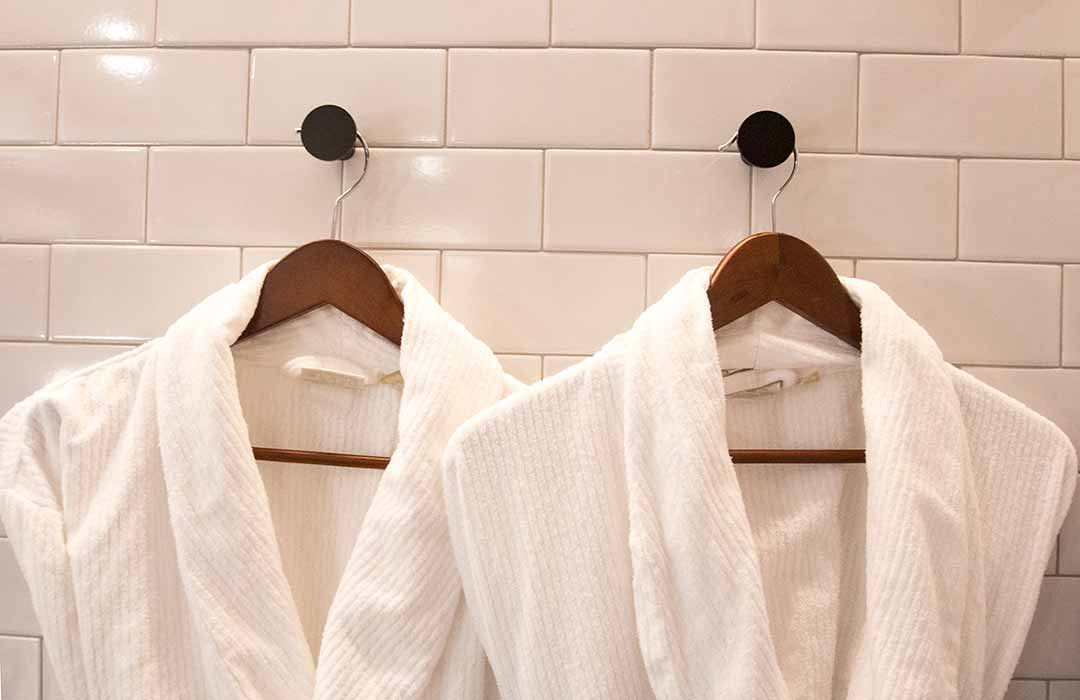 Image of luxury bath robes