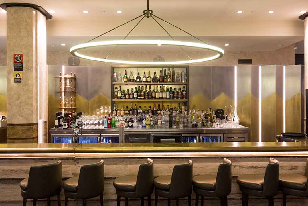 Image of the Lobby Bar at the Primus Hotel